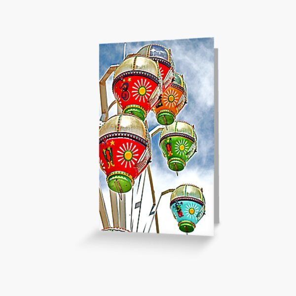 Going Around in Circles Greeting Card