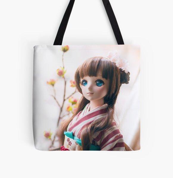 Kimono · Melocoton All Over Print Tote Bag