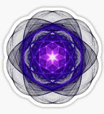 Energetic Geometry - Indigo Prayers Sticker
