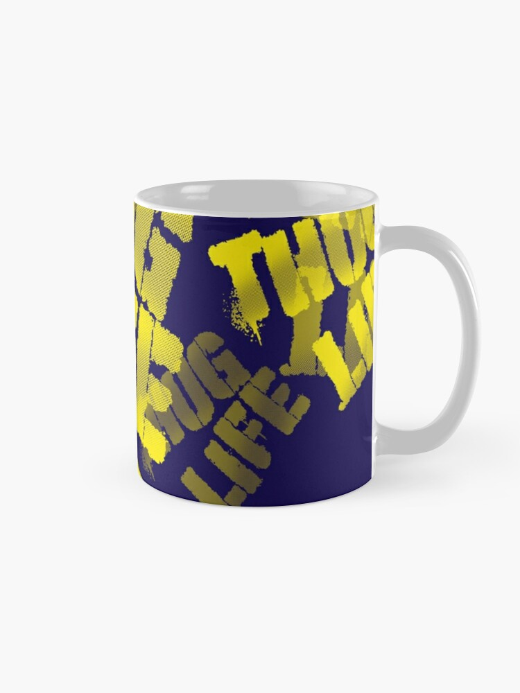 Alternate view of Thug Life Words Mug
