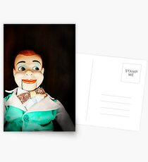 Creepy Dummy Postcards
