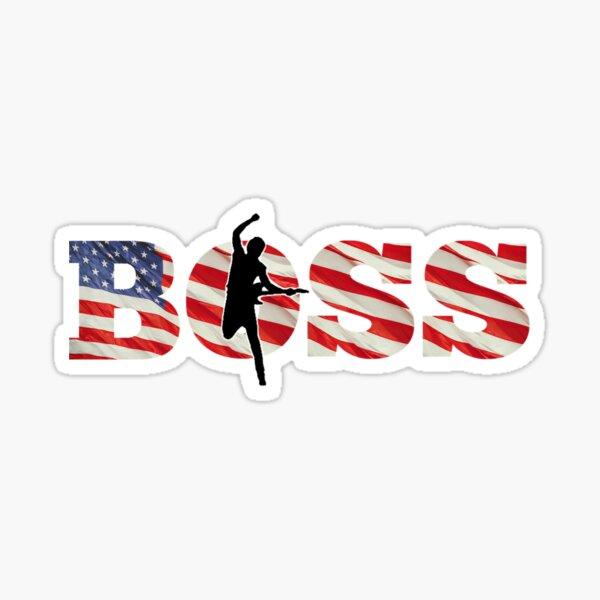 The Boss design #2 Sticker