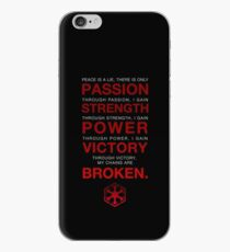 Code of the Sith iPhone Case