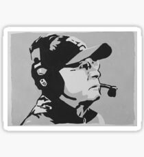 Tom Coughlin Portrait Sticker