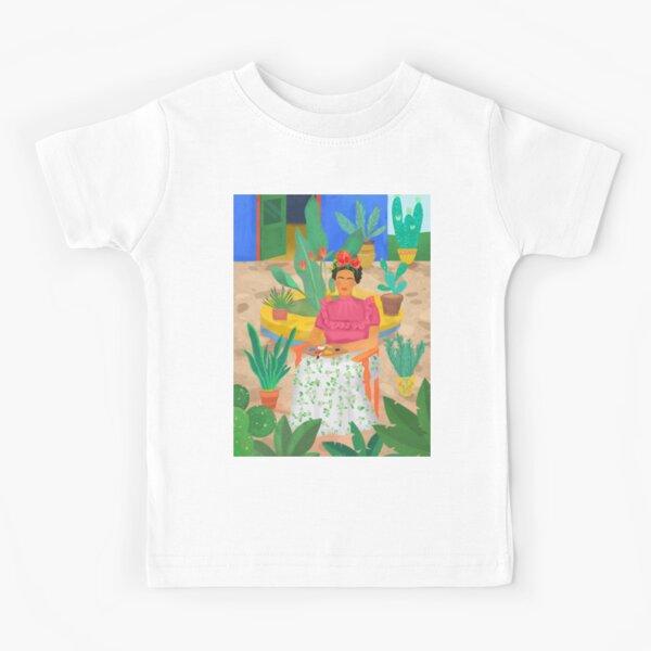 Frida Khalo Camiseta para niños