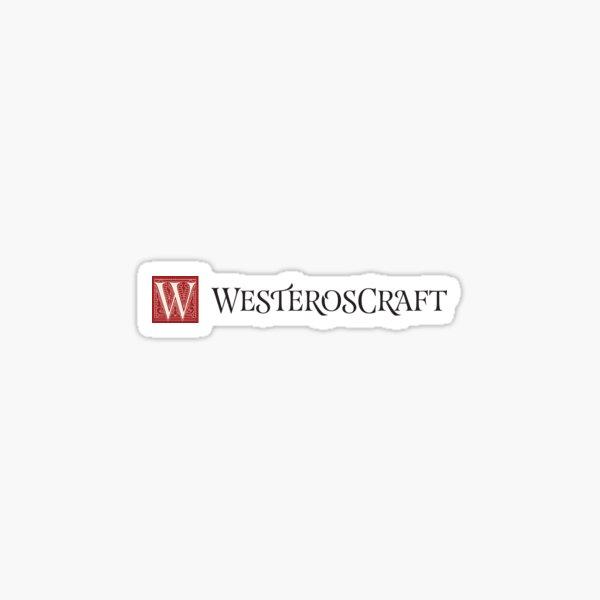 WesterosCraft Logo Sticker