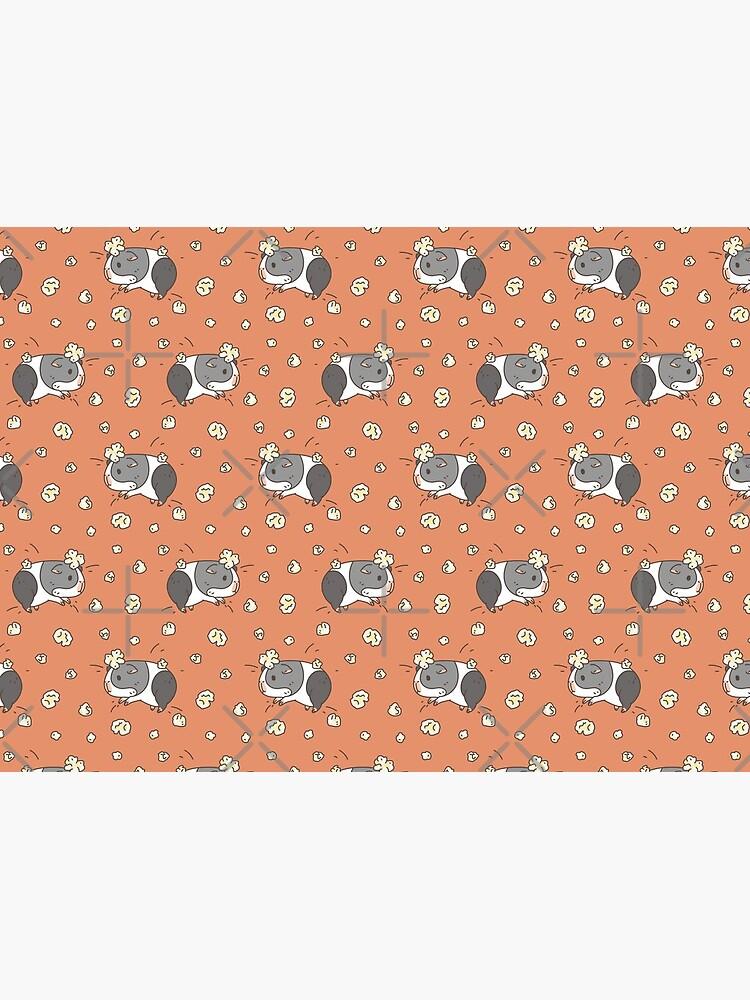 Guinea pig pattern, popcorning  by Miri-Noristudio
