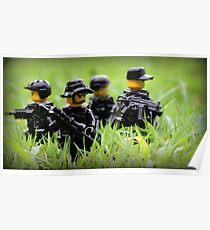 LEGO Navy SEALs Poster