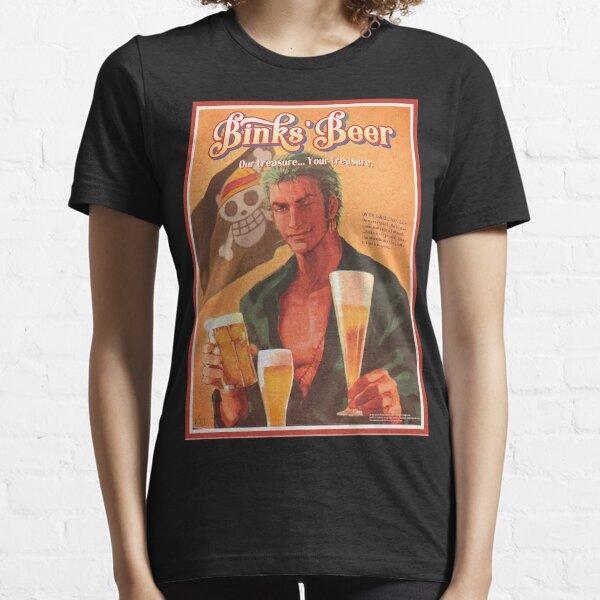 One Piece Zoro Roronoa Beer Essential T-Shirt