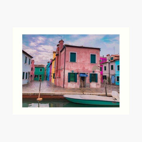 Burano Italy Architecture Art Print