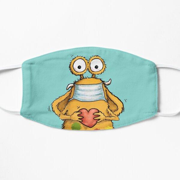 Pumpf Loni trägt Maske Flache Maske