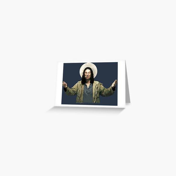 Saint Frank Greeting Card