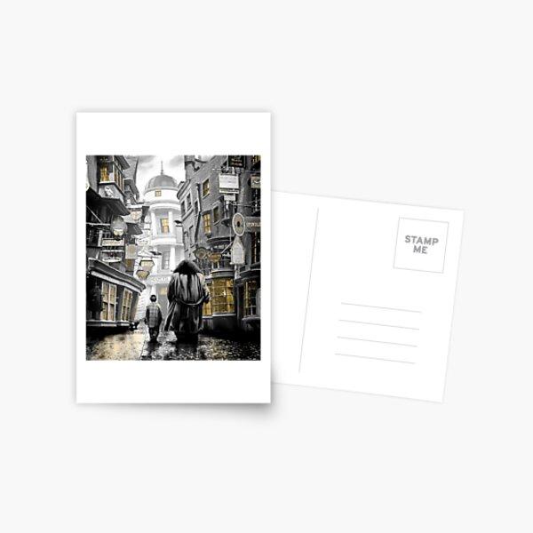 diagon alley harry Postcard