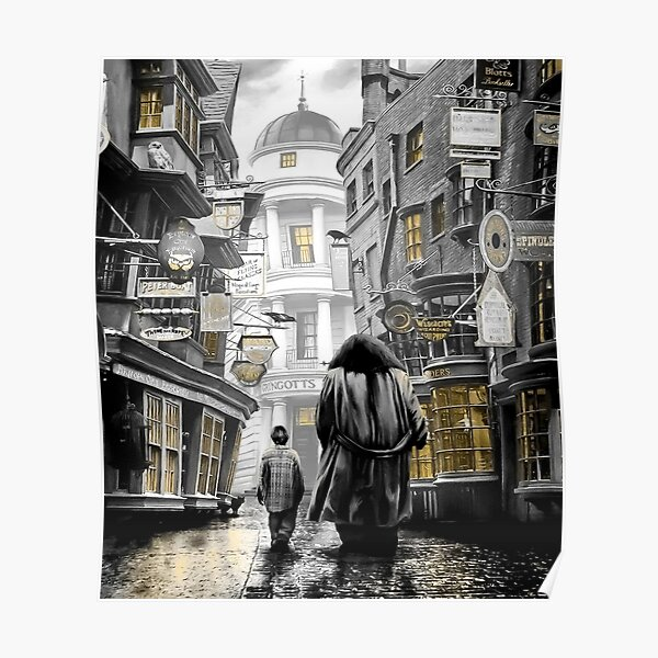 diagon alley harry Poster