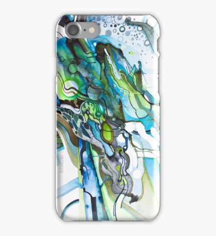 Approaching Eleven Percent From Behind  - Watercolor Painting iPhone Case/Skin