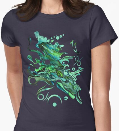 Approaching Eleven Percent From Behind  - Watercolor Painting T-Shirt