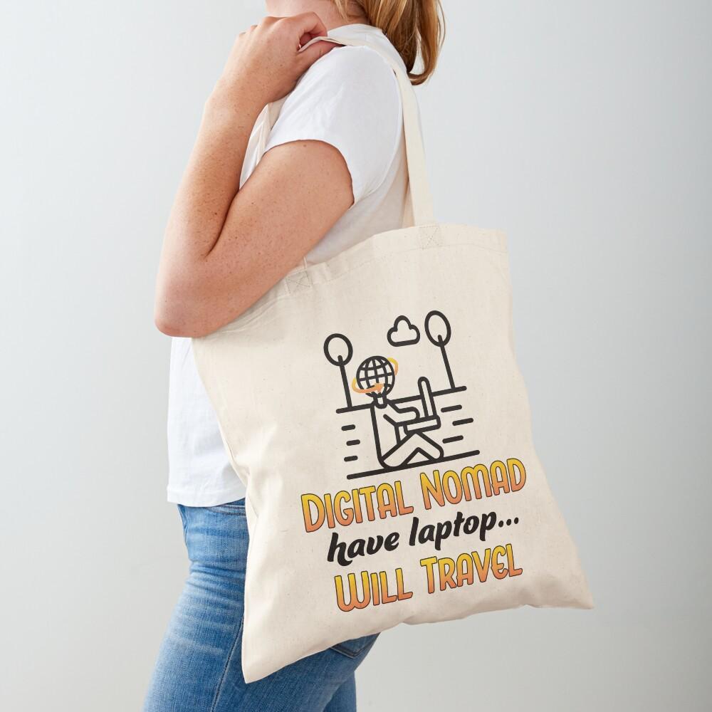 Digital Nomad. Tote Bag
