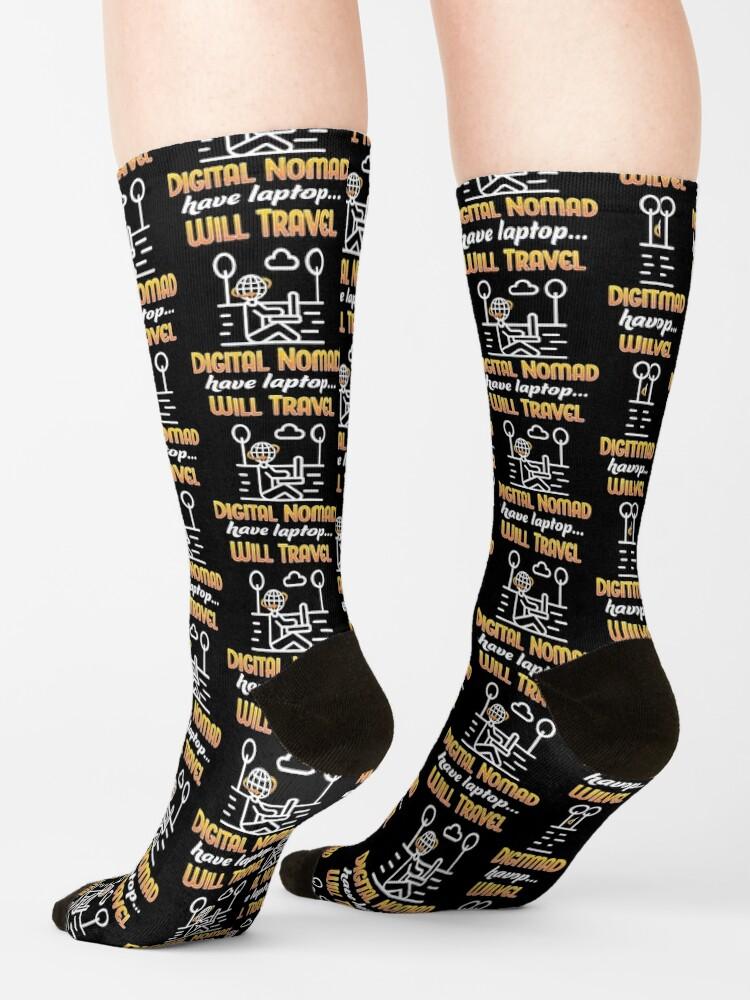Alternate view of Digital Nomad. Socks