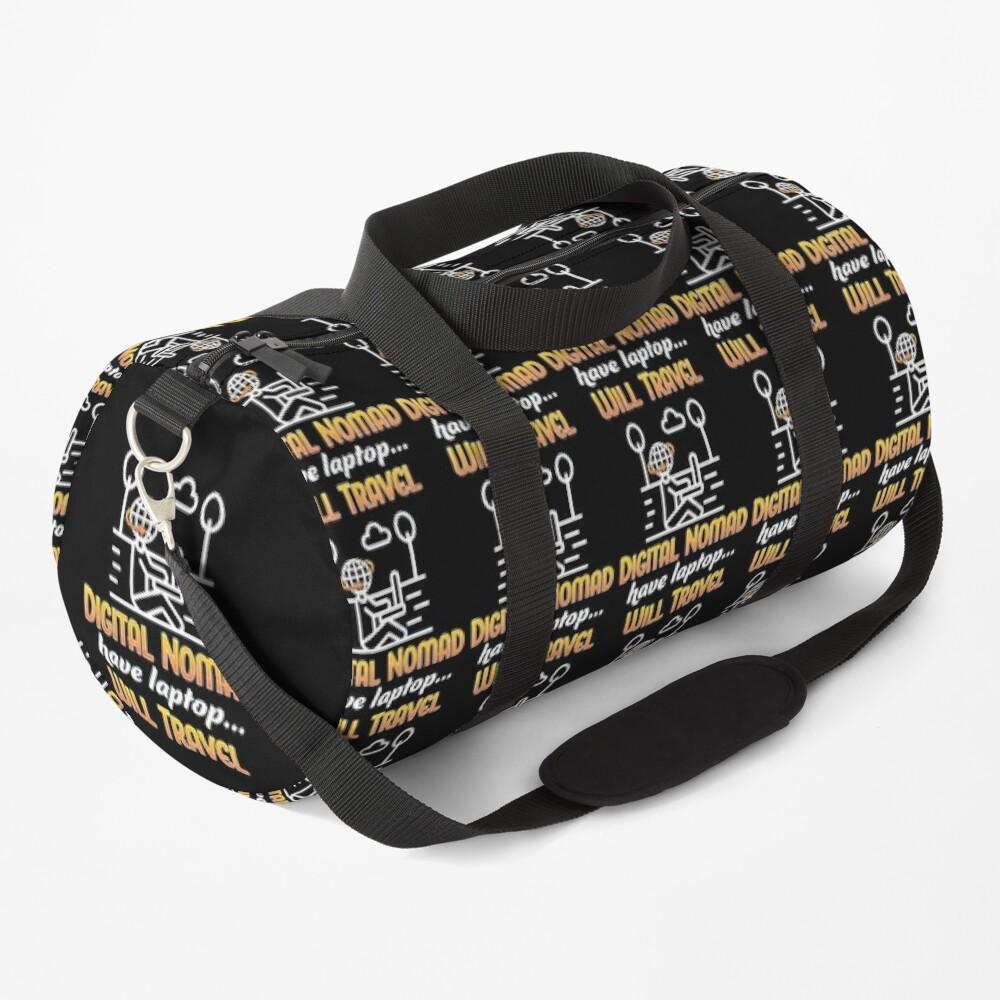 Digital Nomad. Duffle Bag