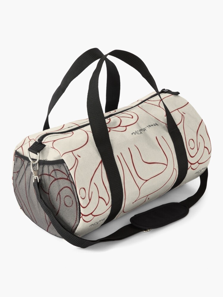 Alternate view of Henri Matisse - The Entwined Lovers 1948 Artwork Reproduction Duffle Bag
