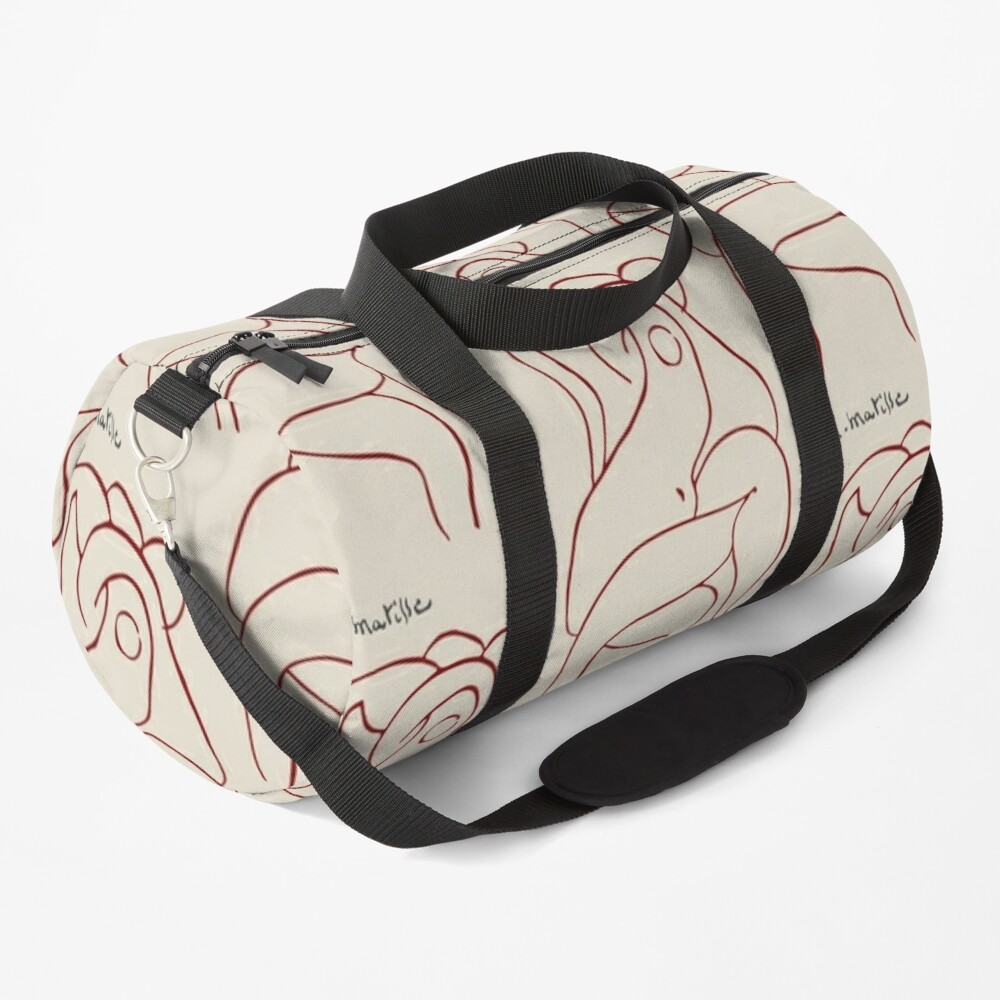 Henri Matisse - The Entwined Lovers 1948 Artwork Reproduction Duffle Bag