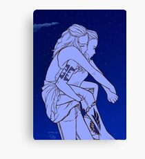 I'll Carry You Home Canvas Print