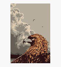 Eagle Eye In The Big Smoke Photographic Print