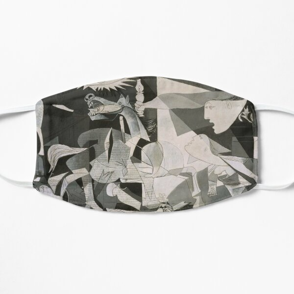 Picasso Guernica Flat Mask