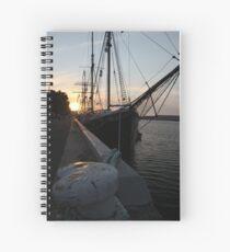 Falie at Sunset Spiral Notebook