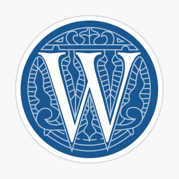 WesterosCraft Circle Logo Blue Sticker