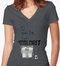 Emmet Otter approves Women's Fitted V-Neck T-Shirt