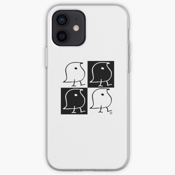 Black and White WUGs iPhone Soft Case
