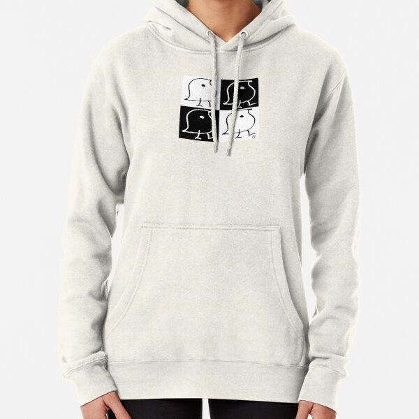 Black and White WUGs Pullover Hoodie