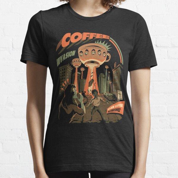 Coffee Invasion Essential T-Shirt