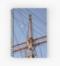 Mast & Moon Spiral Notebook