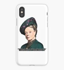 The Dowager Countess iPhone Case/Skin