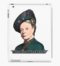 The Dowager Countess iPad Case/Skin