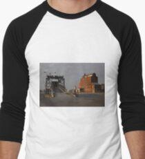 A Touch of Port Adelaide History Men's Baseball ¾ T-Shirt