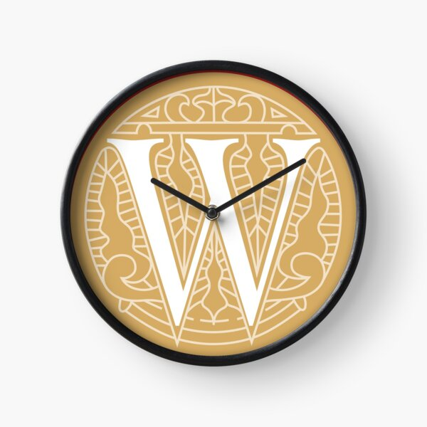 WesterosCraft Circle Logo Yellow Clock