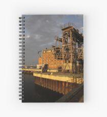 Restoring the Port Spiral Notebook