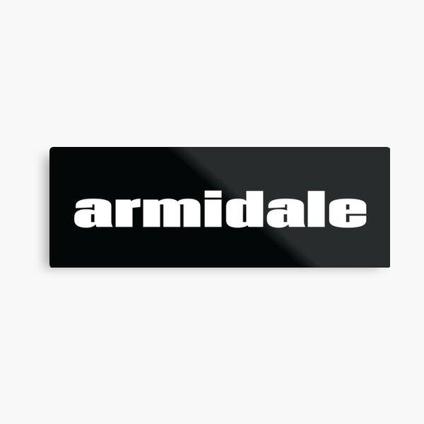 Armidale New South Wales Australia Raised Me Metal Print