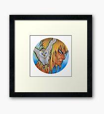 OWL GOBLIN Framed Print