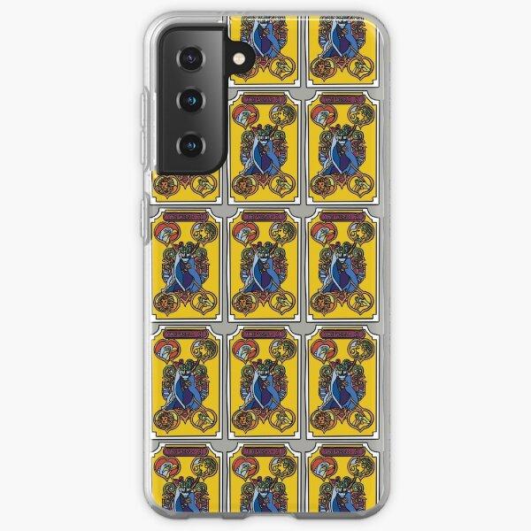 La carte de tarot du monde JoJo Coque souple Samsung Galaxy
