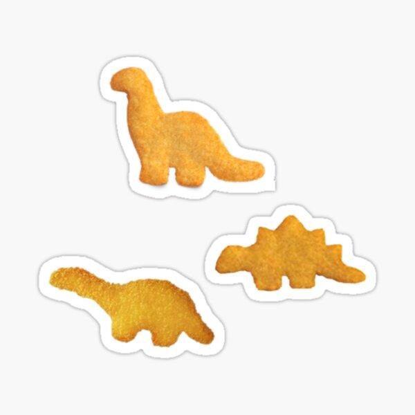 dino nuggies  Sticker