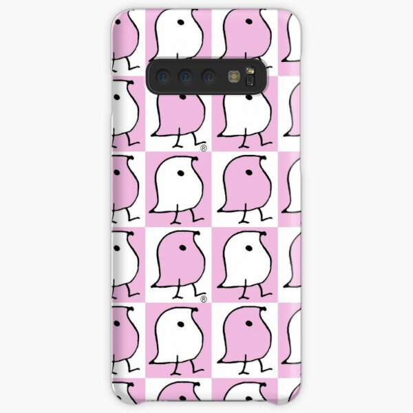 Pink and White Wugs Samsung Galaxy Snap Case