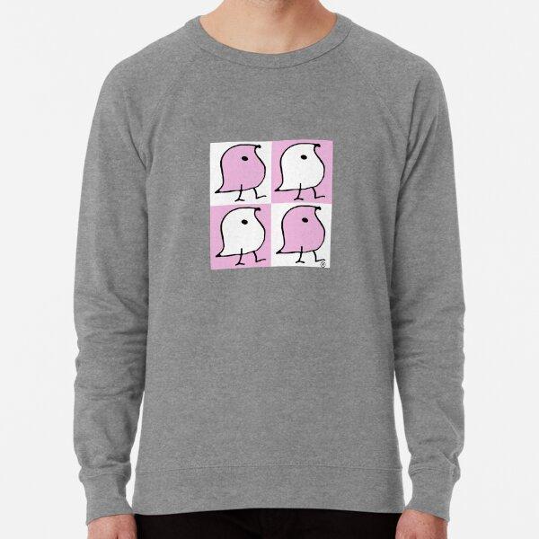 Pink and White Wugs Lightweight Sweatshirt