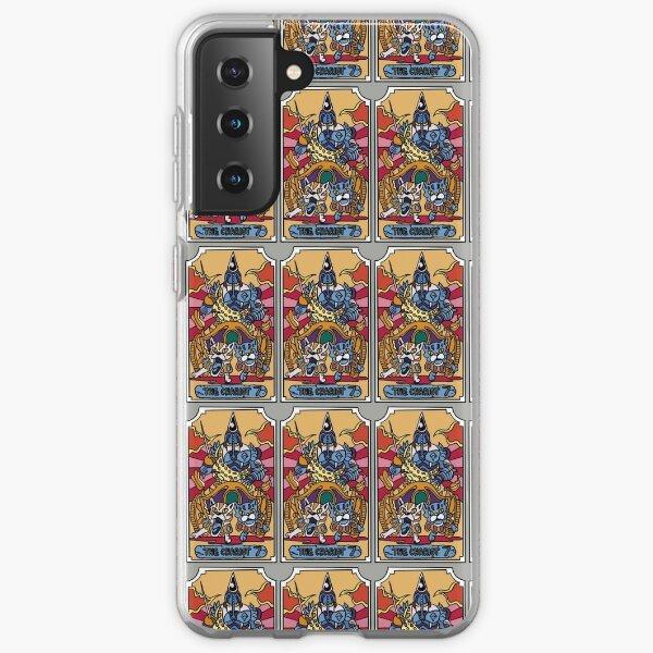 La carte de tarot Chariot JoJo Coque souple Samsung Galaxy