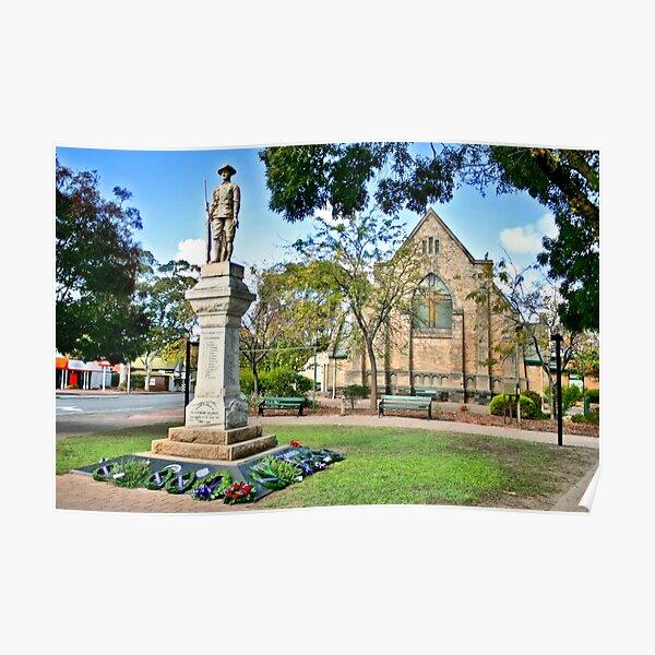 Blackwood Church Memorial Poster