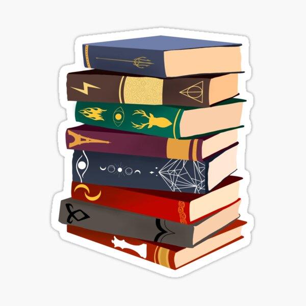 Fantasy Books Sticker