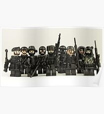 LEGO Snipers Poster